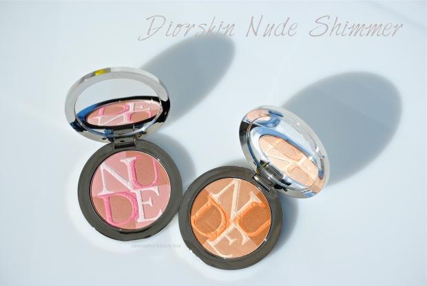 Diorskin Nude Shimmer 01 & 02 opener
