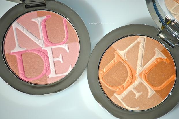 Diorskin Nude Shimmer 01 & 02
