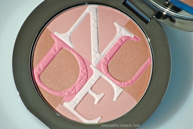 Diorskin Nude Shimmer 01 Pink macro