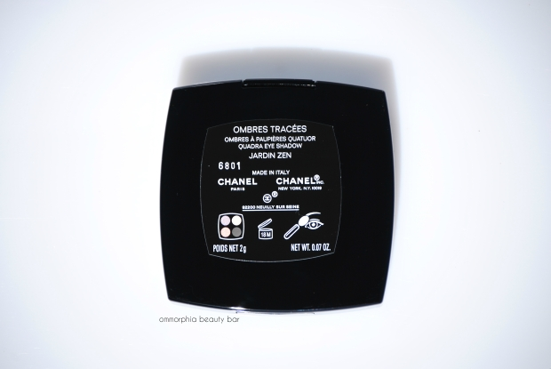 CHANEL Jardin Zen label