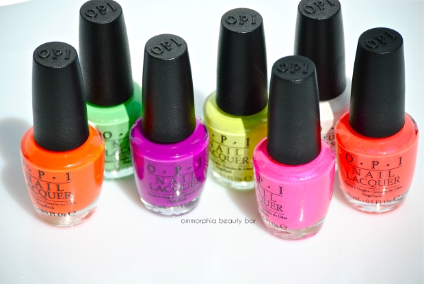 Neons by OPI closer