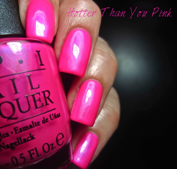 OPI Neons Hotter Than You Pink swatch