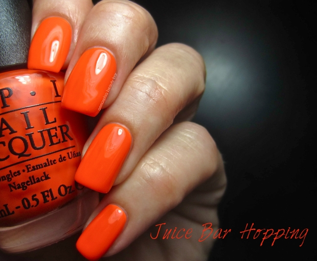 OPI Neons Juice Bar Hopping swatch