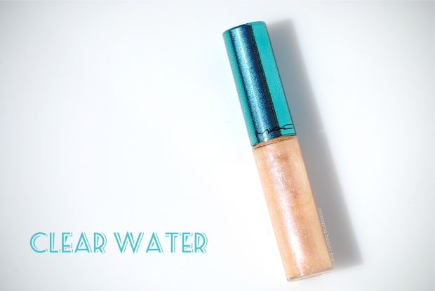 MAC Clear Water Lipglass opener