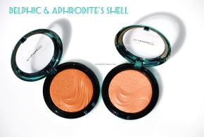 MAC Extra Dimension Bronzing Powders opener