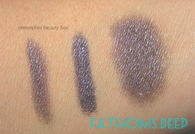 MAC Fathoms Deep swatch