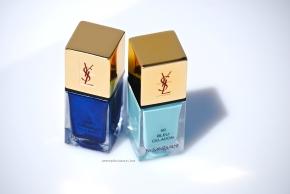 YSL Bleu Celadon & Bleu Cyclades opener